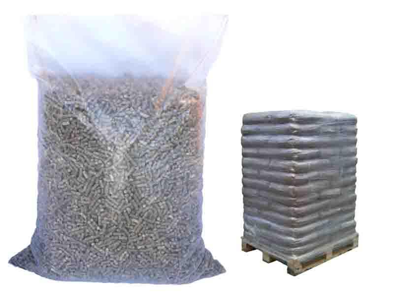 Holzpellets-Sackware, 15 kg, Nadelholz-Kiefer-Lärche