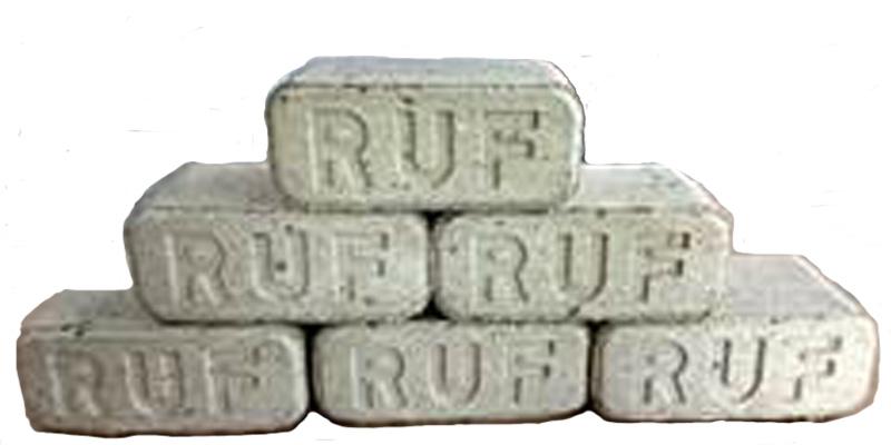RUF Briketts