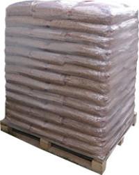 Holzpellets Sackware Palette